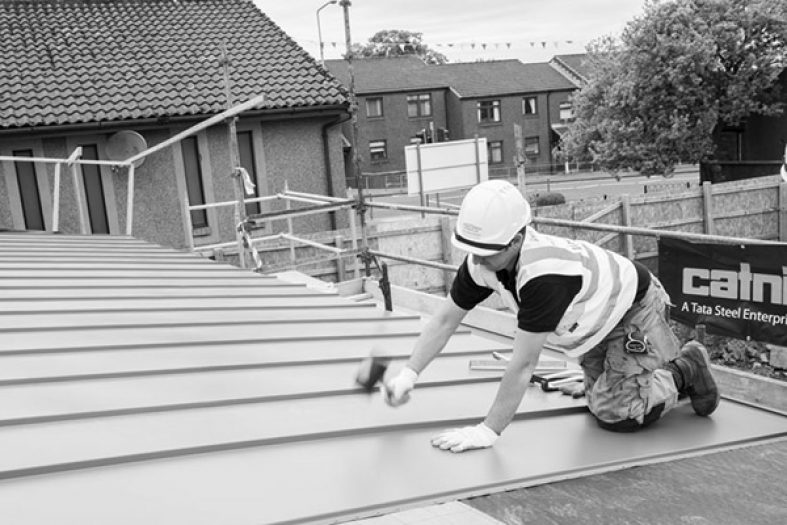 Environmental Roofing Stands To Attention Catnic
