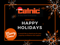 Catnic Holiday Closure