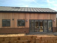 Countryside conversion with contemporary SSR2® Steel Standing Seam Roof