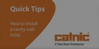 Thumbnail for How to install a Cavity Wall lintel video