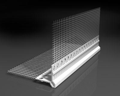 profil entoil pvc rep re paisseur 10 x 10 cm catnic. Black Bedroom Furniture Sets. Home Design Ideas