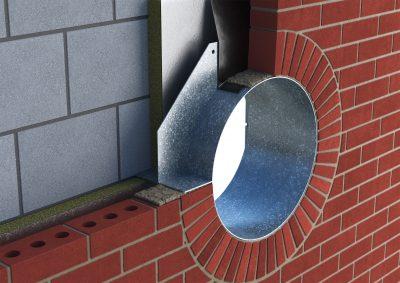 Bulls Eye Lintel Catnic Special Porthole Window Round